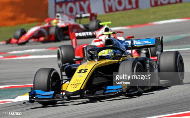 Luca Ghiotto during the GP Spain Formula 2, on 12th May 2019, Barcelona, Spain. --