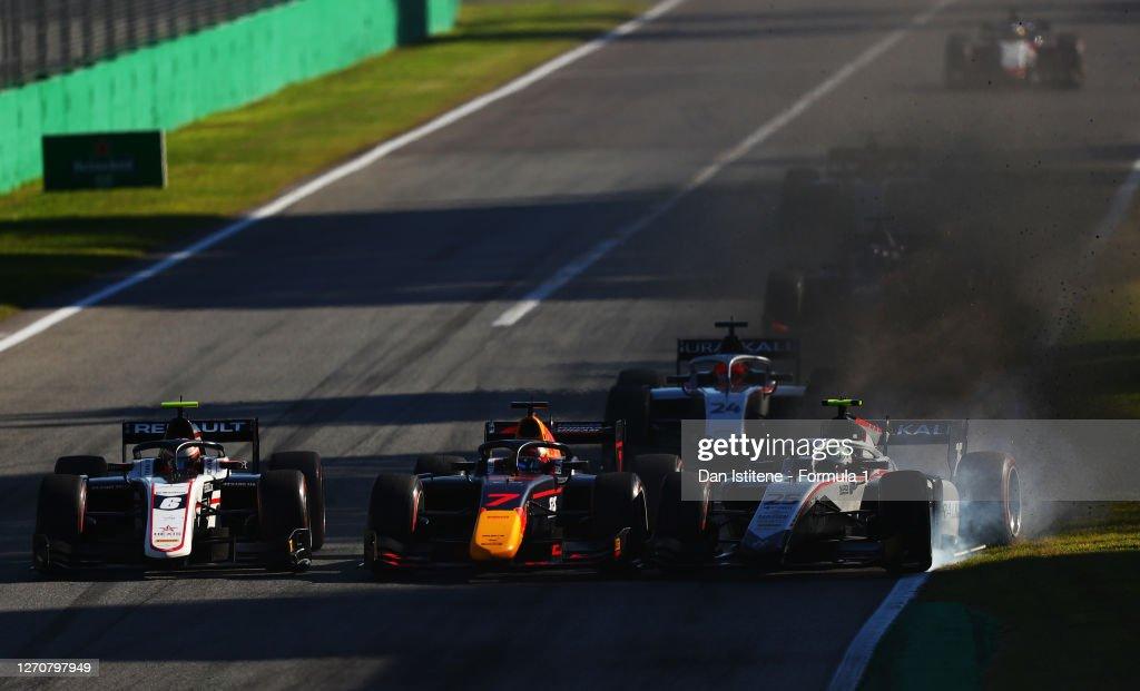 Formula 2 Championship - Round 8:Monza - Feature Race : Nachrichtenfoto