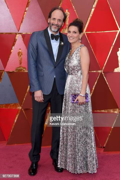 Luca Guadagnino and guest attend the 90th Annual Academy Awards at Hollywood Highland Center on March 4 2018 in Hollywood California