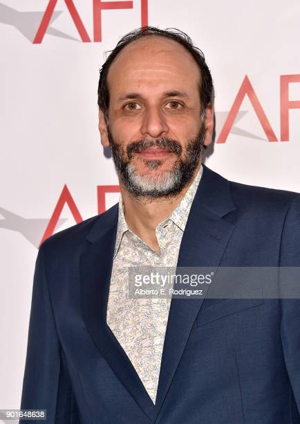 Luca Guadagnino attends the 18th Annual AFI Awards at Four Seasons Hotel Los Angeles at Beverly Hills on January 5 2018 in Los Angeles California