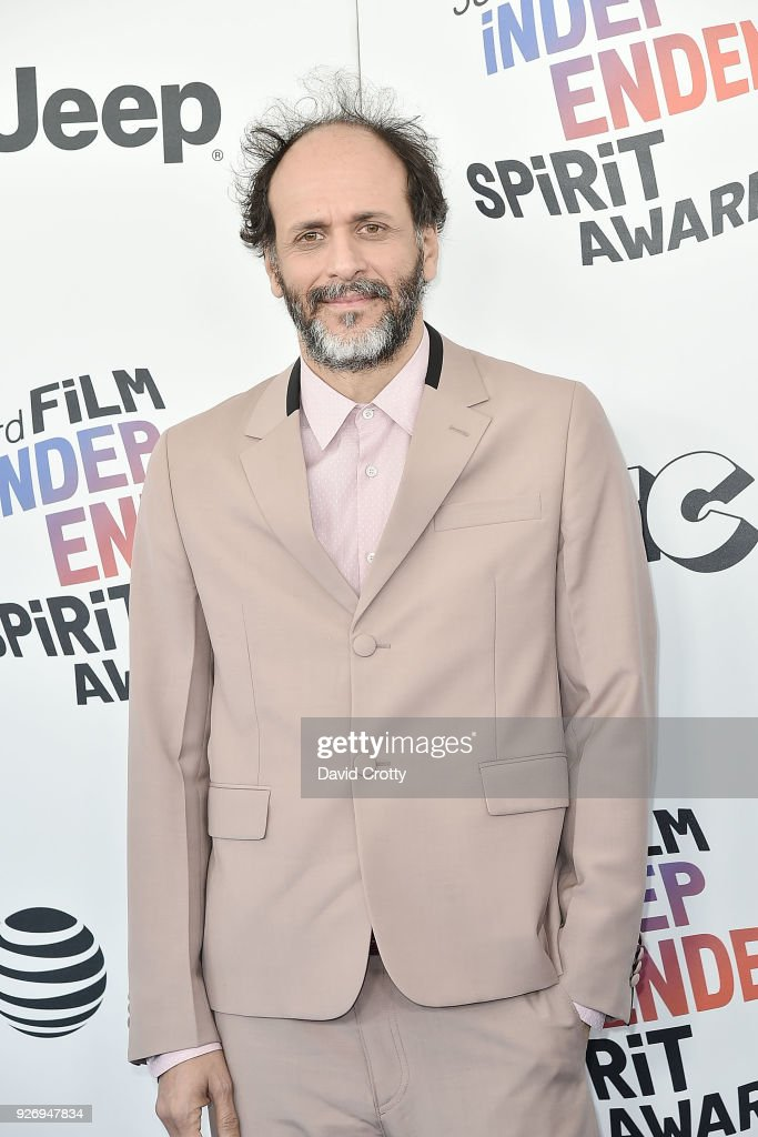Luca Guadagnino attends the 2018 Film Independent Spirit Awards - Arrivals on March 3, 2018 in Santa Monica, California.