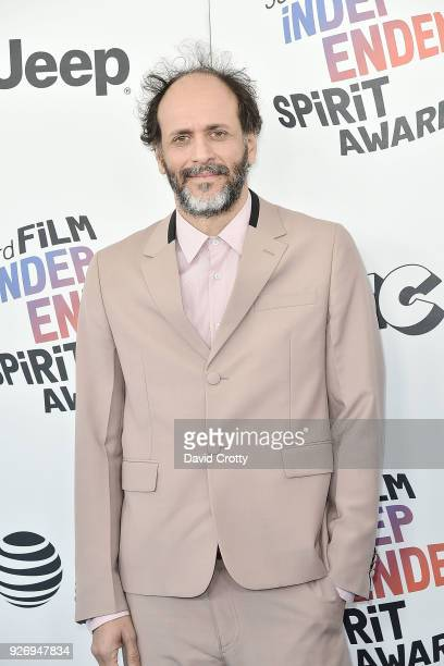 Luca Guadagnino attends the 2018 Film Independent Spirit Awards Arrivals on March 3 2018 in Santa Monica California