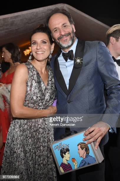 Luca Guadagnino attends the 90th Annual Academy Awards Governors Ball at Hollywood Highland Center on March 4 2018 in Hollywood California