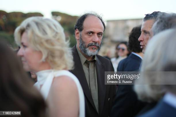 Luca Guadagnino attends the Cocktail at Fendi Couture Fall Winter 2019/2020 on July 04 2019 in Rome Italy