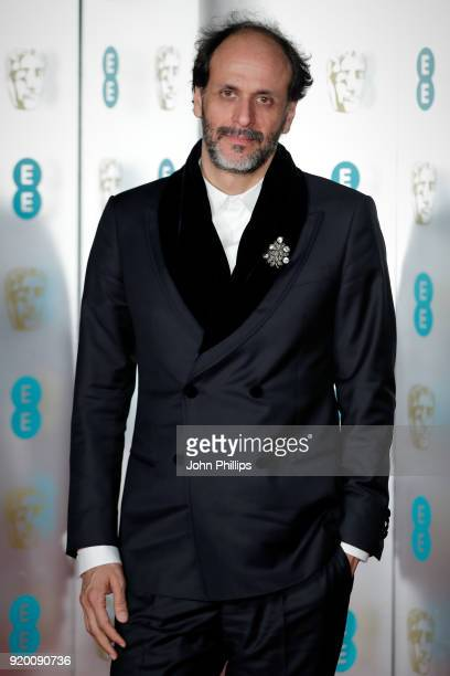 Luca Guadagnino attends the EE British Academy Film Awards gala dinner held at Grosvenor House on February 18 2018 in London England