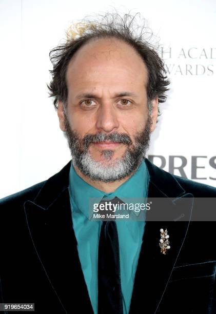 Luca Guadagnino attends the EE British Academy Film Awards nominees party at Kensington Palace on February 17 2018 in London England