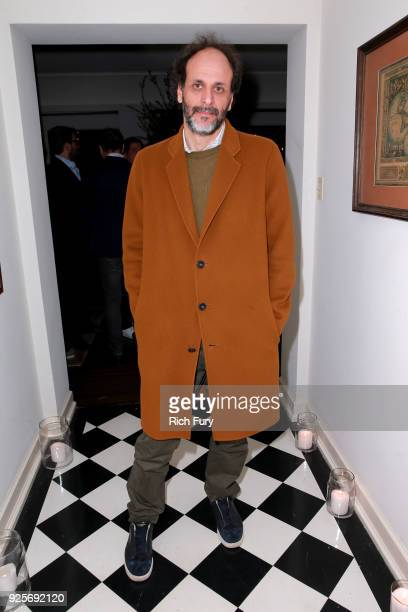 Luca Guadagnino attends the Vanity Fair and Barneys New York celebration of Sony Pictures Classics' 'Call Me By Your Name' on February 28 2018 in Los...