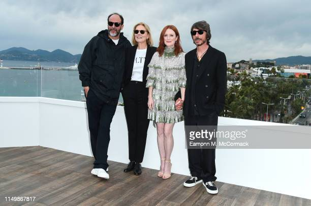 Luca Guadagnino Marthe Keller Julianne Moore and Marco Morabito attend the The Staggering Girl Photocall during the 72nd annual Cannes Film Festival...