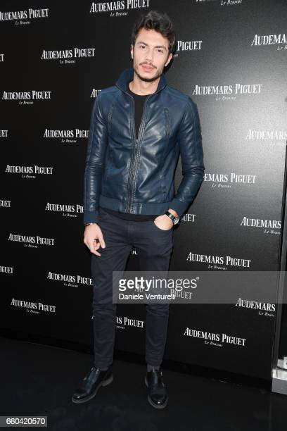 Luca Macellari Palmieri attends The Art Projects By Audemars Piguet Presentation on March 29 2017 in Milan Italy