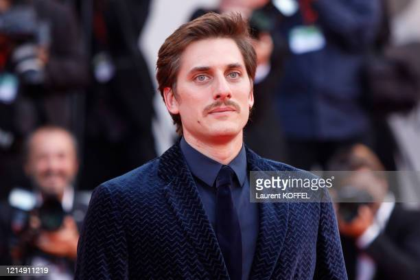 Luca Marinelli walks the red carpet ahead of the closing ceremony of the 76th Venice Film Festival at Sala Grande on September 07 2019 in Venice Italy