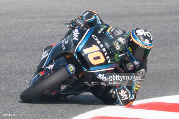 10 Luca MARINI ITA SKY Racing Team VR46 Kalex qualifications at the Misano World Circuit Marco Simoncelli Italy thirteenth round of MotoGP Word...