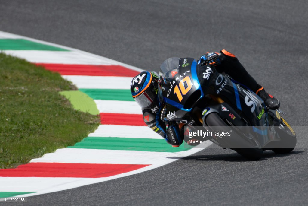 10 Luca Marini Sky Racing Team Vr46 Moto2 In Day 2 At The Mugello News Photo Getty Images