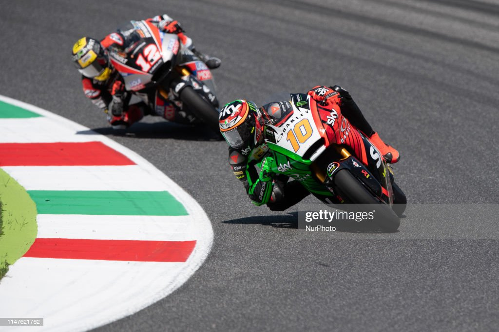 10 Luca Marini Sky Racing Team Vr46 Moto2 In Race Day 4 At The News Photo Getty Images