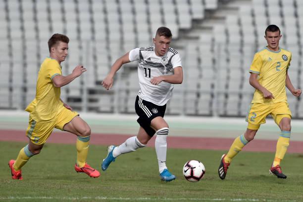 GRC: Germany U17 v Kazakhstan U17 - UEFA Under17 European Qualifiers