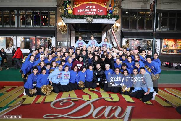 Luca Padovan performs during Day 2 of the 2018 Macy's Thanksgiving Day Parade Rehearsals at Macy's Herald Square on November 20 2018 in New York City