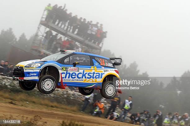 CHECKSTAR CITROEN DS3  WRC Rally  ITALIA SARDEGNA   2012