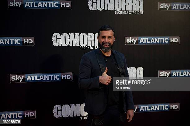 Luca Tommasini attends the 'Gomorra 2 - La serie' on red carpets at The Teatro dell'Opera in Rome, Italy on May 10, 2016.