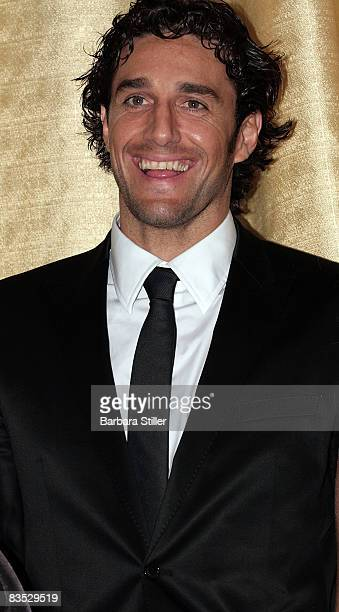 Luca Toni attends the UNESCO Benefit Gala for Children 2008 at Hotel Maritim on November 1 2008 in Cologne Germany