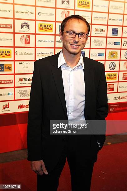 Luca Verhoeven attends the Video Night 2010 at The Westin Grand on October 19 2010 in Munich Germany