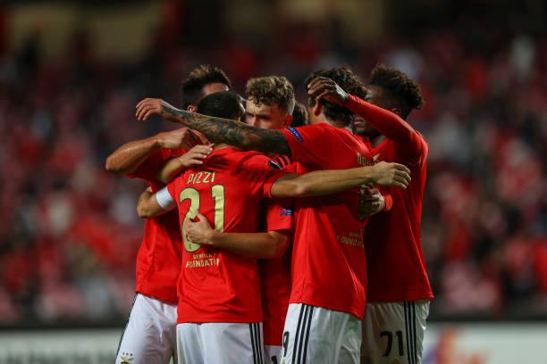 PRT: SL Benfica v Standard Liege: Group D - UEFA Europa League