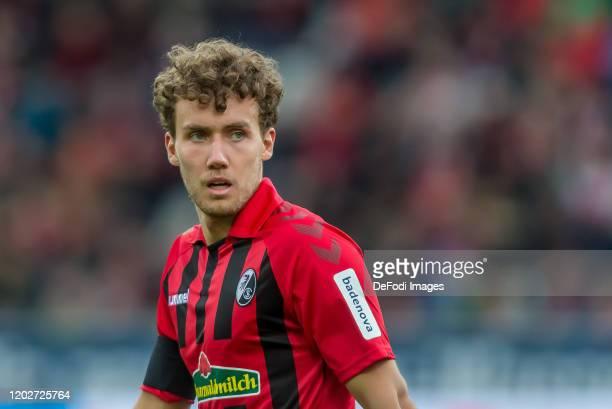Luca Waldschmidt of Sport-Club Freiburg Looks on during the Bundesliga match between Sport-Club Freiburg and Fortuna Duesseldorf 95 at...