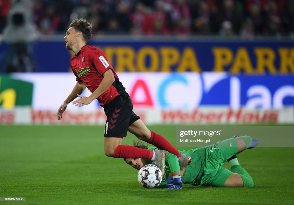 Sport-Club Freiburg v Borussia Moenchengladbach - Bundesliga : Nachrichtenfoto