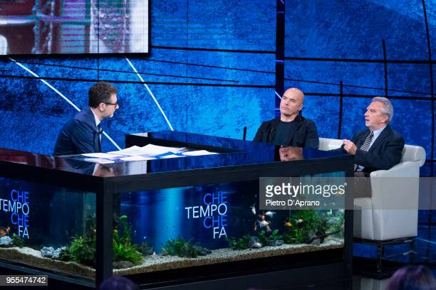 che tempo che fa tv show may 6 2018 ストックフォトと画像 getty images