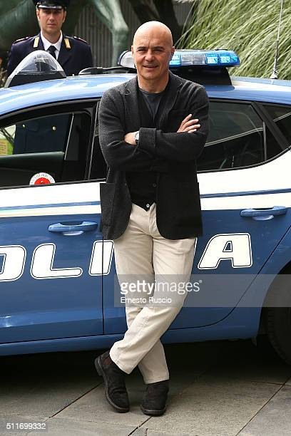 Luca Zingaretti attends a photocall for 'Il Commissario Montalbano' at RAI on February 22 2016 in Rome Italy