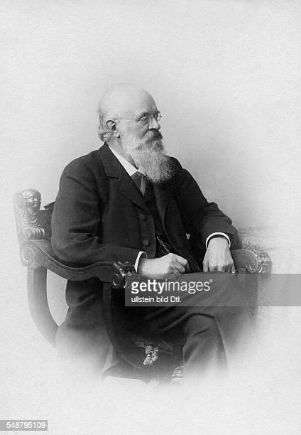 Lucae August Physician Doctor Otologist Germany *24081835 Geheimer Medizinalrat Portrait undated around 1895 Photographer Wilhelm Fechner Vintage...