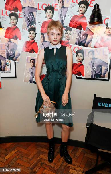 Lucan Gillespie attends the #MOVINGLOVE screening hosted by Derek Blasberg Katie Grand at Screen on the Green on July 15 2019 in London England
