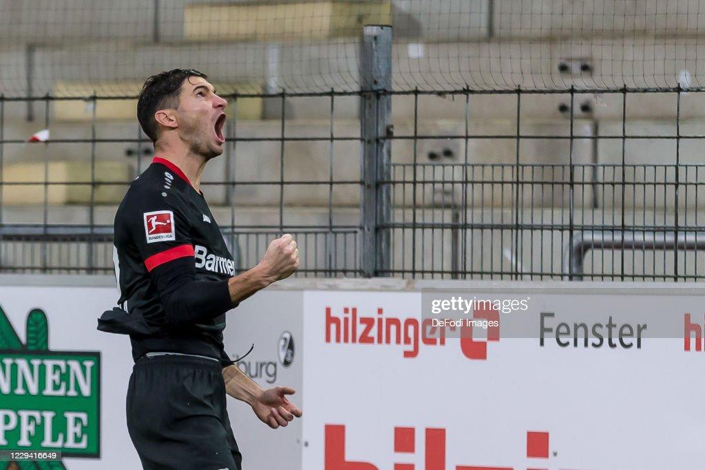 Sport-Club Freiburg v Bayer 04 Leverkusen - Bundesliga : News Photo