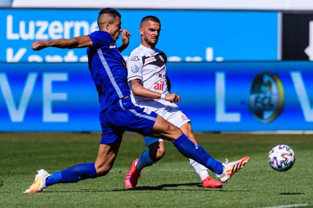 CHE: FC Luzern v FC Lugano - Swiss Super League