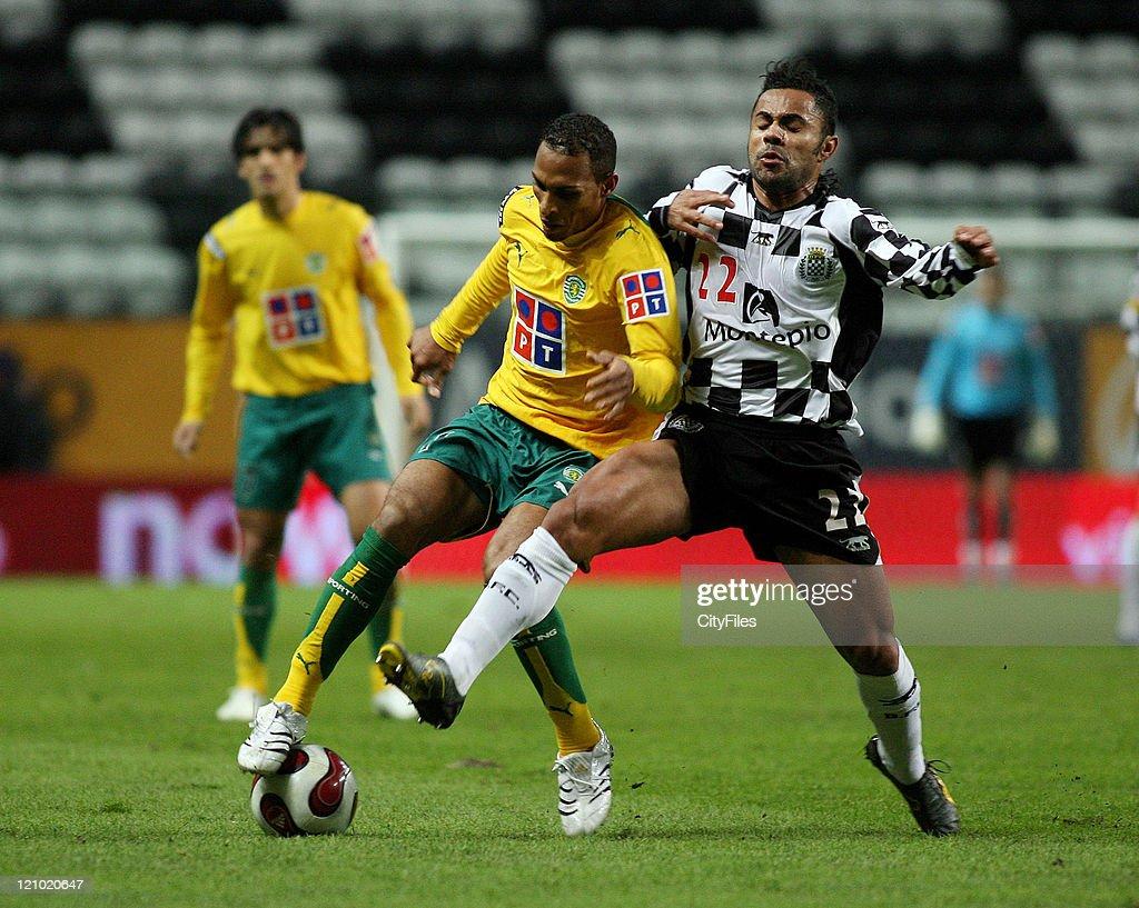 Portuguese Bwin League - Boavista vs Sporting - January 28, 2007 : ニュース写真