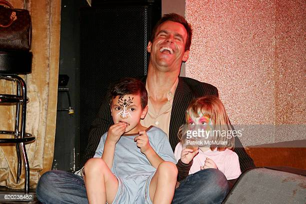 Lucas Arthur Mathison Cameron Mathison and Guest attend A CELEBRATION OF CHILDREN National Love Our Children Day at Spotlight Live on April 5 2008 in...