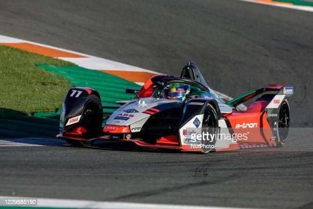 Lucas , Audi Sport ABT Schaeffler, Audi e-ton FE07, action during the ABB Formula E Championship official pre-season test at Circuit Ricardo Tormo in...