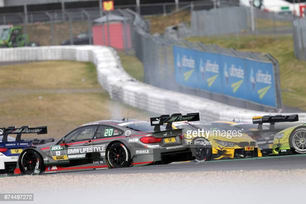 Lucas Auer and Marco Wittmann and Bruno Spengler and Edoardo Mortara and Augusto Farfus Tom Blomqvist and Unfall zwischen Timo Glock and Paul Di...