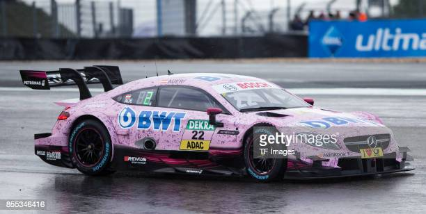 Lucas Auer drives during the Qualifying race of the DTM 2017 German Touring Car Championship at Nuerburgring on Septembmber 9 2017 in Nuerburg Germany