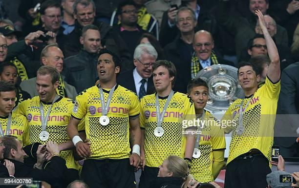 Lucas Barrios Borussia Dortmund Kevin Großkreutz Grosskreutz Borussia Dortmund Moritz Leitner Borussia Dortmund Robert Lewandowski Borussia Dortmund...