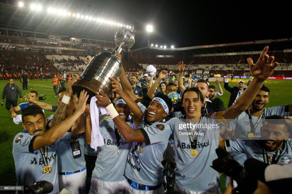 Lanus v Gremio - Copa CONMEBOL Libertadores 2017 : News Photo