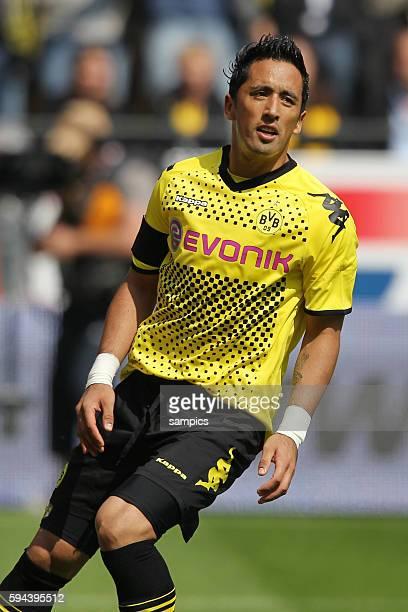 Lucas Barrios Fussball 1 Bundesliga Borussia Dortmund BVB Eintracht Frankfurt Saison 2010 / 2011 1452011