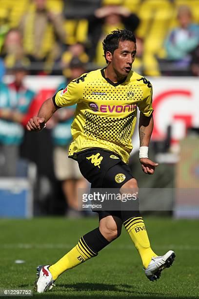 Lucas Barrios Fussball 1 Bundesliga Borussia Dortmund BVB - Eintracht Frankfurt Saison 2010 / 2011 14.5.2011
