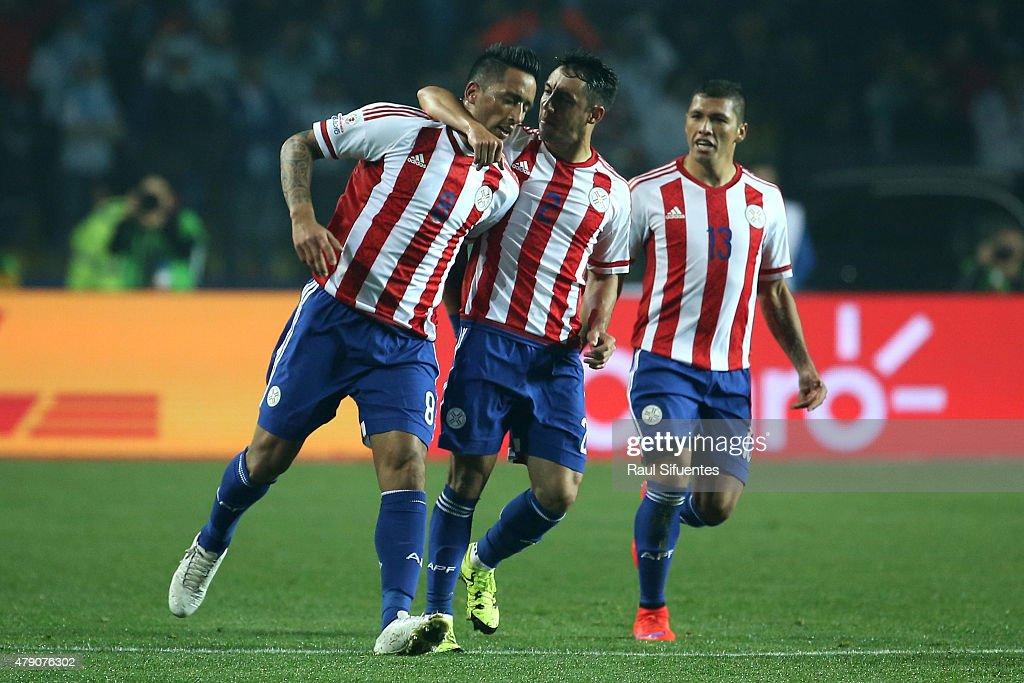 Argentina v Paraguay: Semifinal - 2015 Copa America Chile