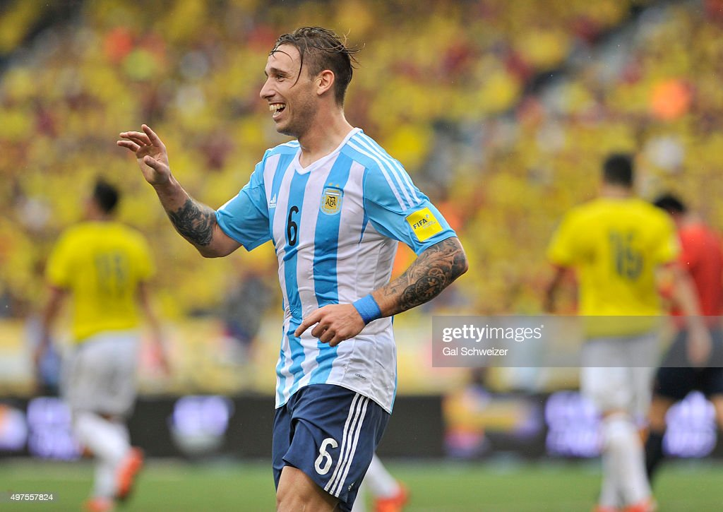Colombia v Argentina - FIFA 2018 World Cup Qualifiers : News Photo