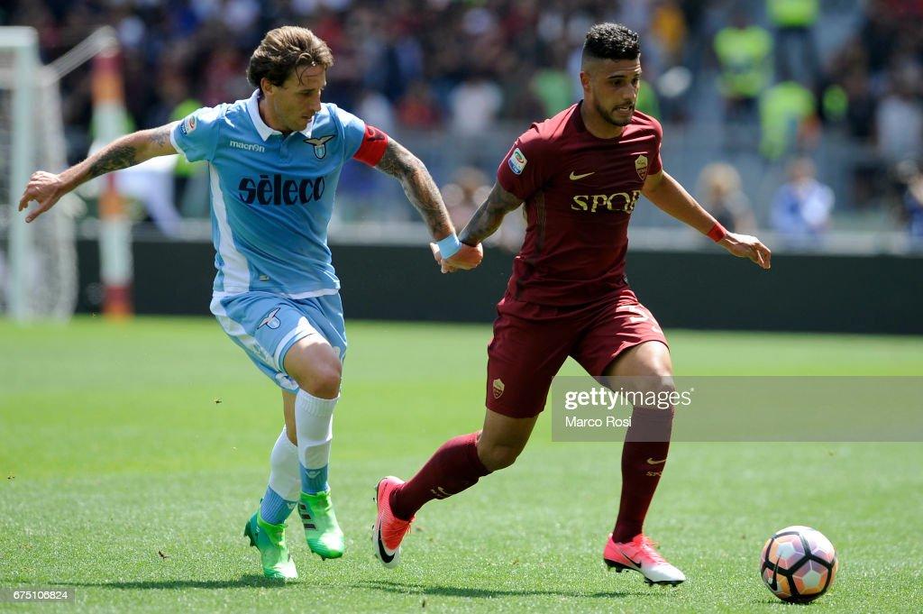 AS Roma v SS Lazio - Serie A : Foto di attualità