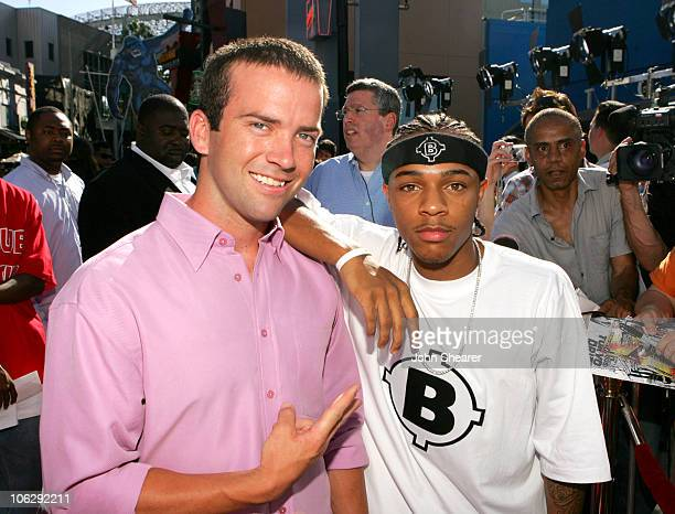 Lucas Black and Bow Wow during The Fast and the Furious Tokyo Drift Los Angeles Premiere Red Carpet at Universal Studios in Hollywood California...