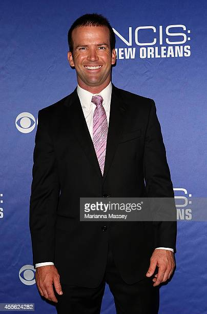 Lucas Black attends the screening of NCIS New Orleans at the National WWII Museum on September 17 2014 in New Orleans Louisiana