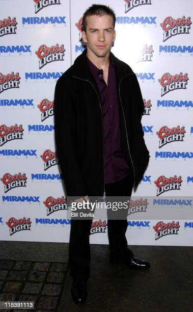 Lucas Black during Cold Mountain New York Premiere After Party at New York Public Library in New York City New York United States