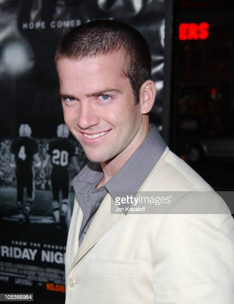 Lucas Black during Friday Night Lights World Premiere at Grauman's Chinese Theatre in Hollywood California United States