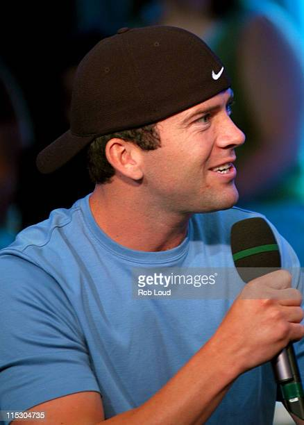 Lucas Black during Lucas Black and Too Short Visit FUSE in New York City June 12 2006 at FUSE Studios in New York New York United States