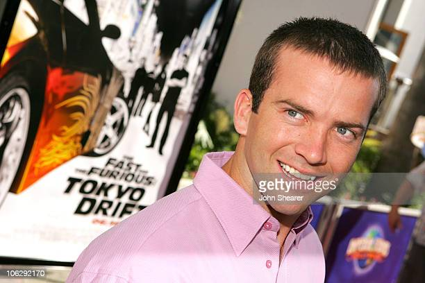 Lucas Black during The Fast and the Furious Tokyo Drift Los Angeles Premiere Red Carpet at Universal Studios in Hollywood California United States